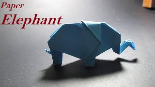 Origami Elephant - How To Make An Origami Elephant Easy