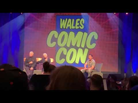 Stargate Q&A With Richard Dean Anderson & Amanda Tapping - Wales Comic Con 2019