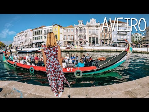 Aveiro, day trip from Porto, Portugal | Vlog 3
