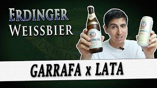 Erdinger Weissbier - LATA x GARRAFA | DB#274