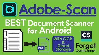 Adobe Scan   The Best Document Scanner for Android   Scan Documents to PDF