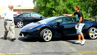 Poop on Lamborghini Prank Gone HORRIBLY WRONG! thumbnail