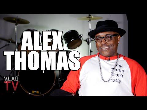 Alex Thomas on Peeing Himself When Guns Flashed at Long Beach