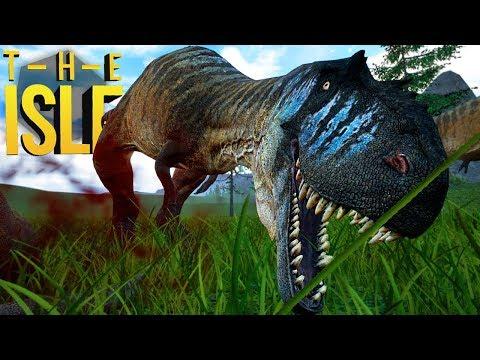 The Isle Realismo - Perigos Na Isla Sorna, Albertosaurus, Jurassic Park! | Dinossauros (#162)