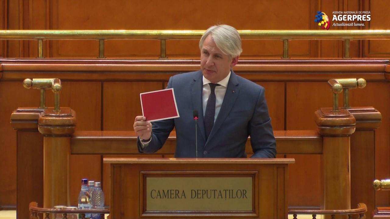 Dezbatere buget-Teodorovici: N-am nici talentul, nici dorinţa şi nici impertinenţa să mint vreodată