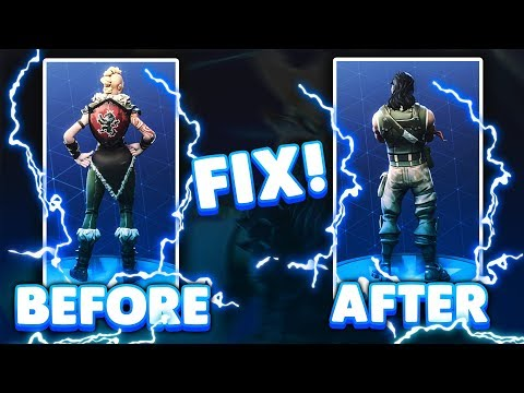 How To Fix Back Bling & Default Skin Glitch In Fortnite Season 5 (Xbox, PC, Ps4)
