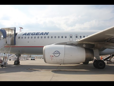 Aegean Airlines A320   Economy class trip report   BRU ATH  
