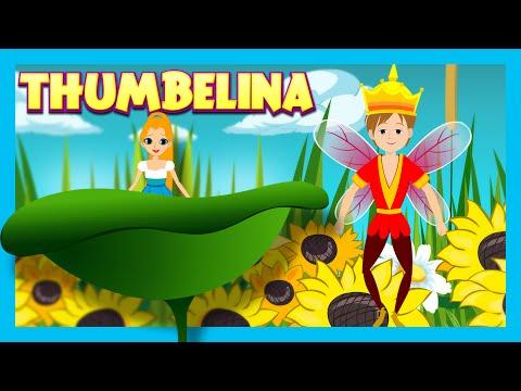 Thumbelina Bedtime Story For Kids || Thumbelina Fairy Tales And Bedtime Story In English For Kids