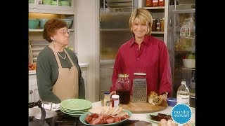 Kielbasa with Homemade Horseradish Sauce- Martha Stewart