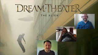 REACTION Dream Theater The Alien Official Music Video Musicians Panel Reacts