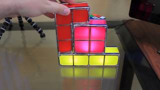 Tetris Constructible Desk Lamp Light Review!