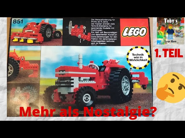 Mehr als Nostalgie? | LEGO© Technic 851 (1977) Review | Teil. 1