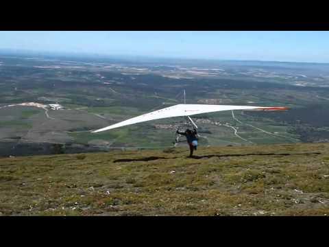 Ala Delta - Despegues y aterrizajes Arcones - Han Gliding