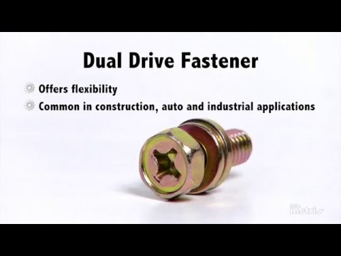 Learn About The Different Metric Fastener Drive Types