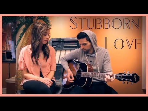 Stubborn Love The Lumineers Acoustic   Candace and Michael