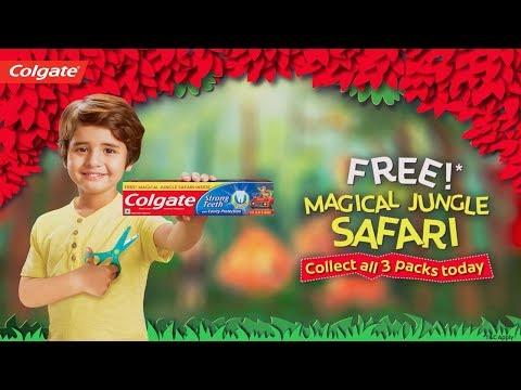 Colgate Magical Jungle Safari (Hin)