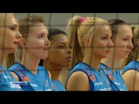 Волейбол / Женщины / Лига Чемпионов 2015-2016 / Волей Альба (Румыния) - Динамо (Россия)