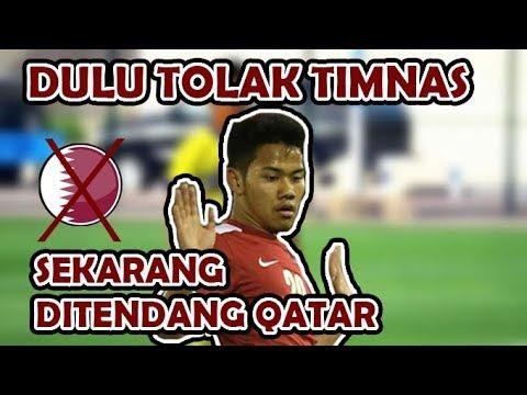 KENA BATUNYA !! Dulu Tolak Timnas Indonesia, Sekarang Ditendang Qatar  YouTube