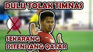 KENA BATUNYA !! Dulu Tolak Timnas Indonesia, Sekarang Ditendang Qatar