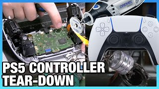 Sony PlayStation 5 DualSense Controller Tear-Down & Disassembly, ft. Dremel