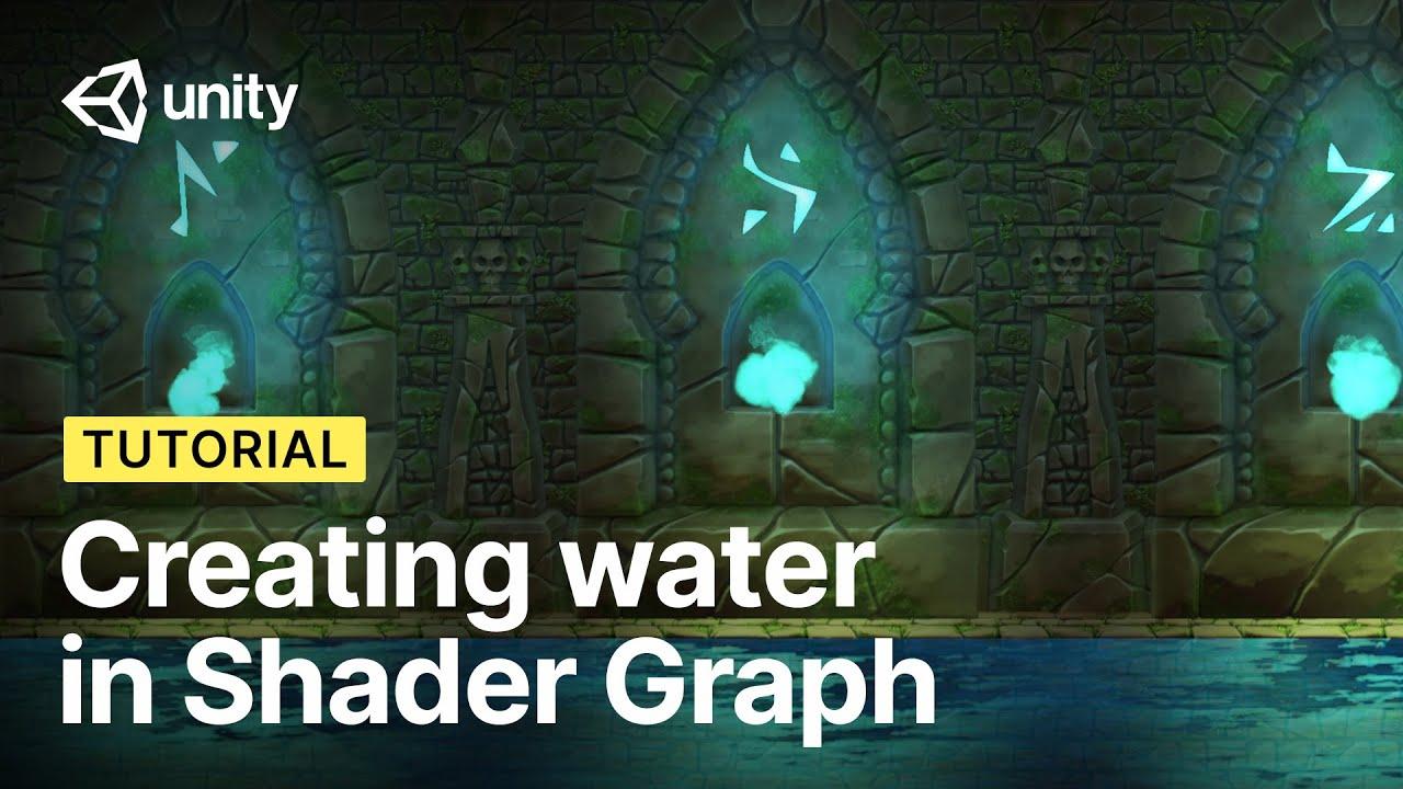 Creating a Water Shader with Shader Graph in Unity!   2D Shader Basics