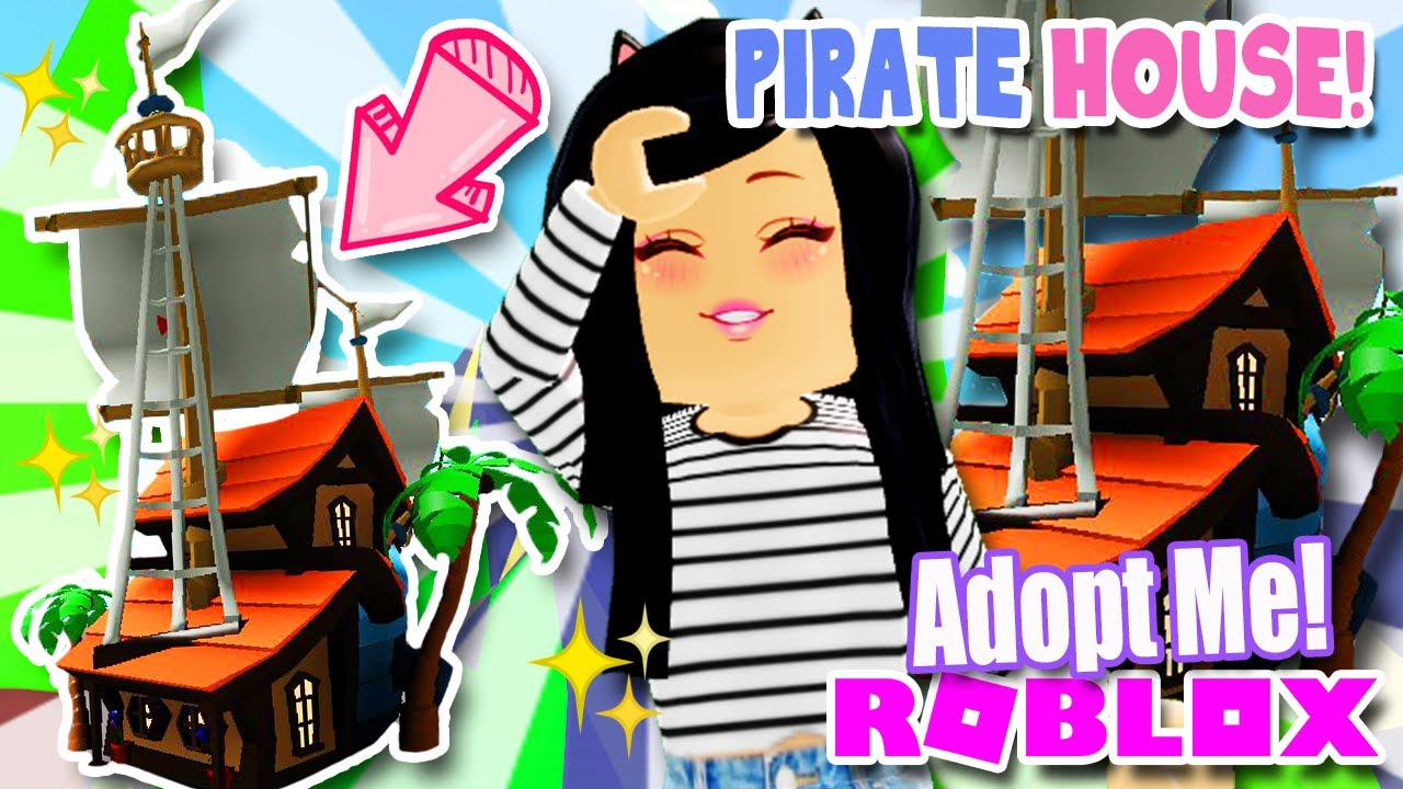 New Pirate House Update In Adopt Me Roblox Tea News Youtube
