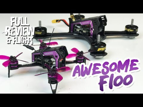 Awesome F100 Fpv Micro Brushless Quad - Full Review & Flight Test