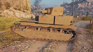 World of Tanks T2 Medium Tank 842 DMG - Mines