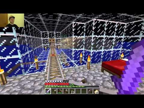 Minecraft #1: моя железная дорога