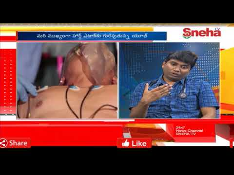 How to save from Heart Attack? | Health First with Dr Ranjith Cardiologist  | Sneha TV Telugu