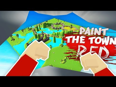 BATTLE ROYALE MODE IN PAINT THE TOWN RED (Paint the Town Red Funny Gameplay)
