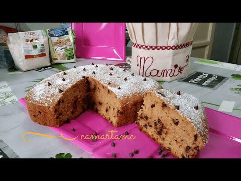 BIO KAMUT E FARRO: Torta Soffice al Caffè con Gocce Di Cioccolato SENZA BURRO