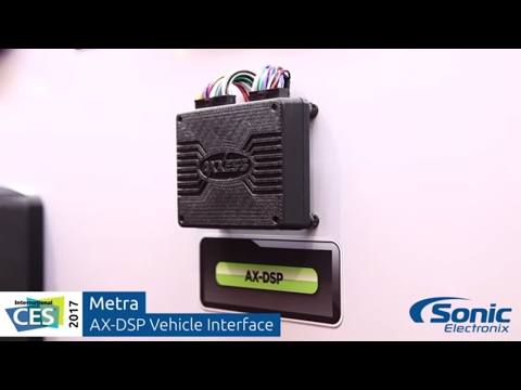 Metra Axxess AX-DSP Vehicle Interface & Digital Sound Processor | CES 2017
