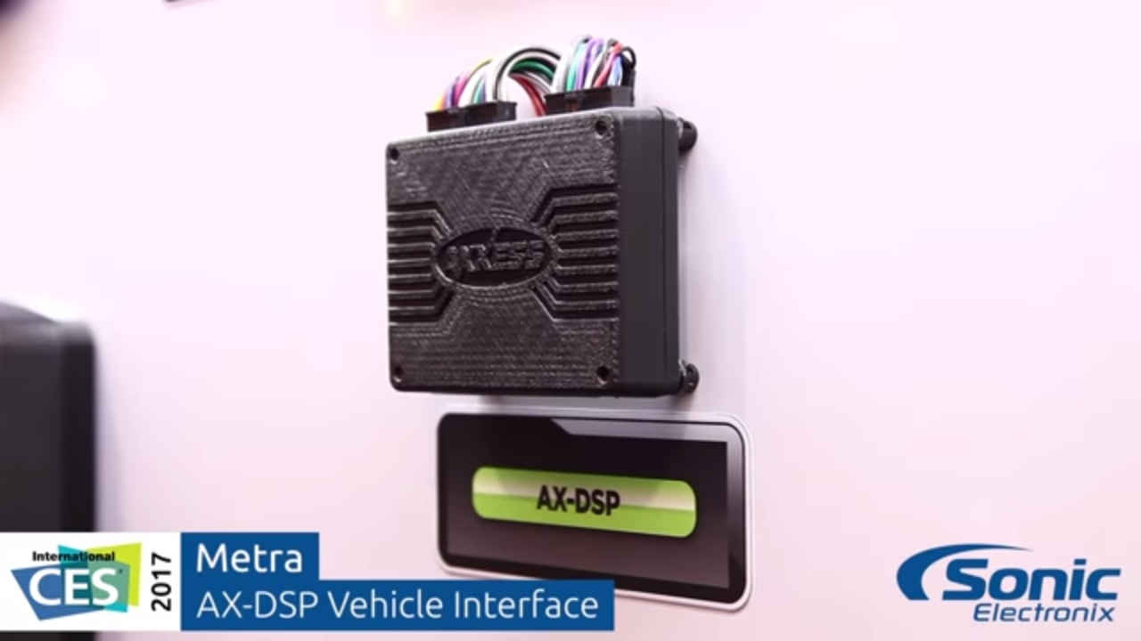Metra Axxess Ax Dsp Vehicle Interface Digital Sound Processor Help With Jl Cleansweep Installation Sony Nav Wiring Ces 2017