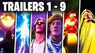 Fortnite Todos Los Trailers (Temporadas 1 - 9)