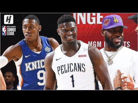 New Orleans Pelicans vs New York Knicks - Full Game Highlights | July 5, 2019 NBA Summer League