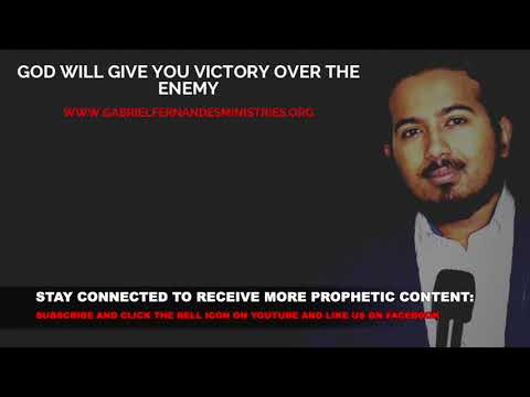 GOD WILL GIVE YOU VICTORY OVER THE ENEMY, WHEN JESUS SAYS YES, NOBODY CAN SAY NO!