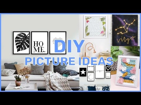 DIY 2019 ROOM DECOR  I easy ideas for pictures