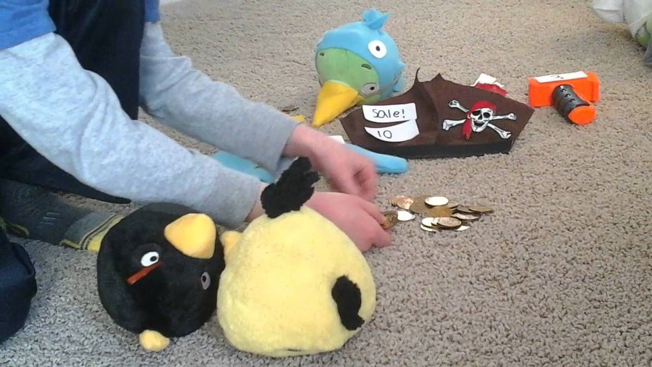 "Angry Birds Epic Plush-part 2 ""Chef Pig's Revenge"""