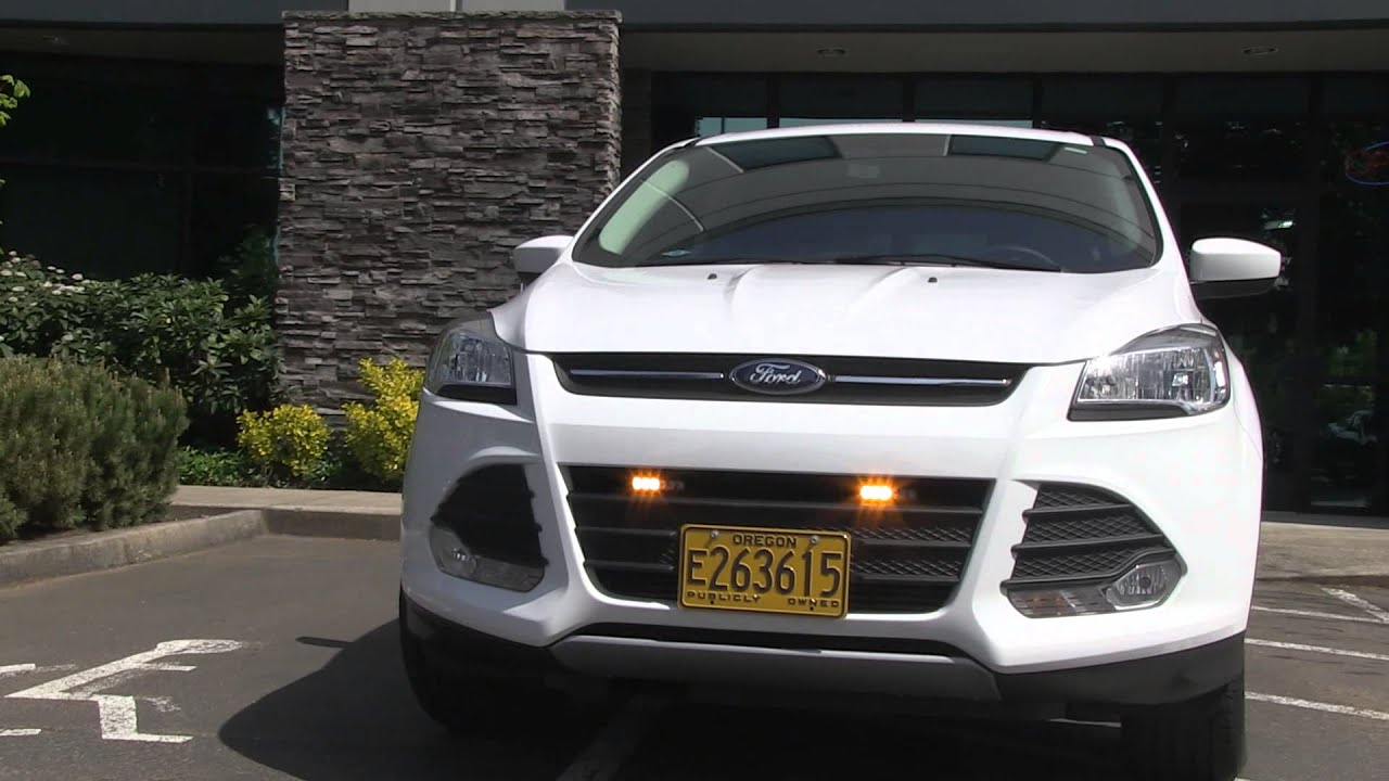 An amber lighting installation on a ford escape youtube aloadofball Images
