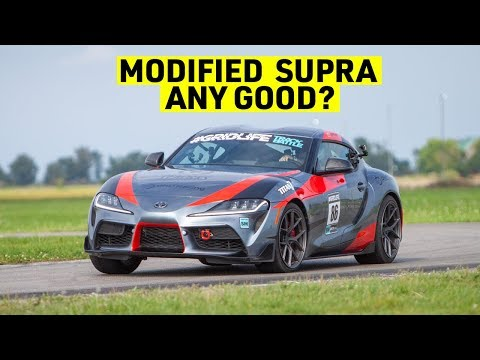 How Much Faster is a Modified 2020 Supra than a Stock One?