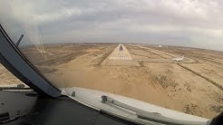 Landing at Djerba (DJE) Tunisia - RWY09 (Cockpit View)