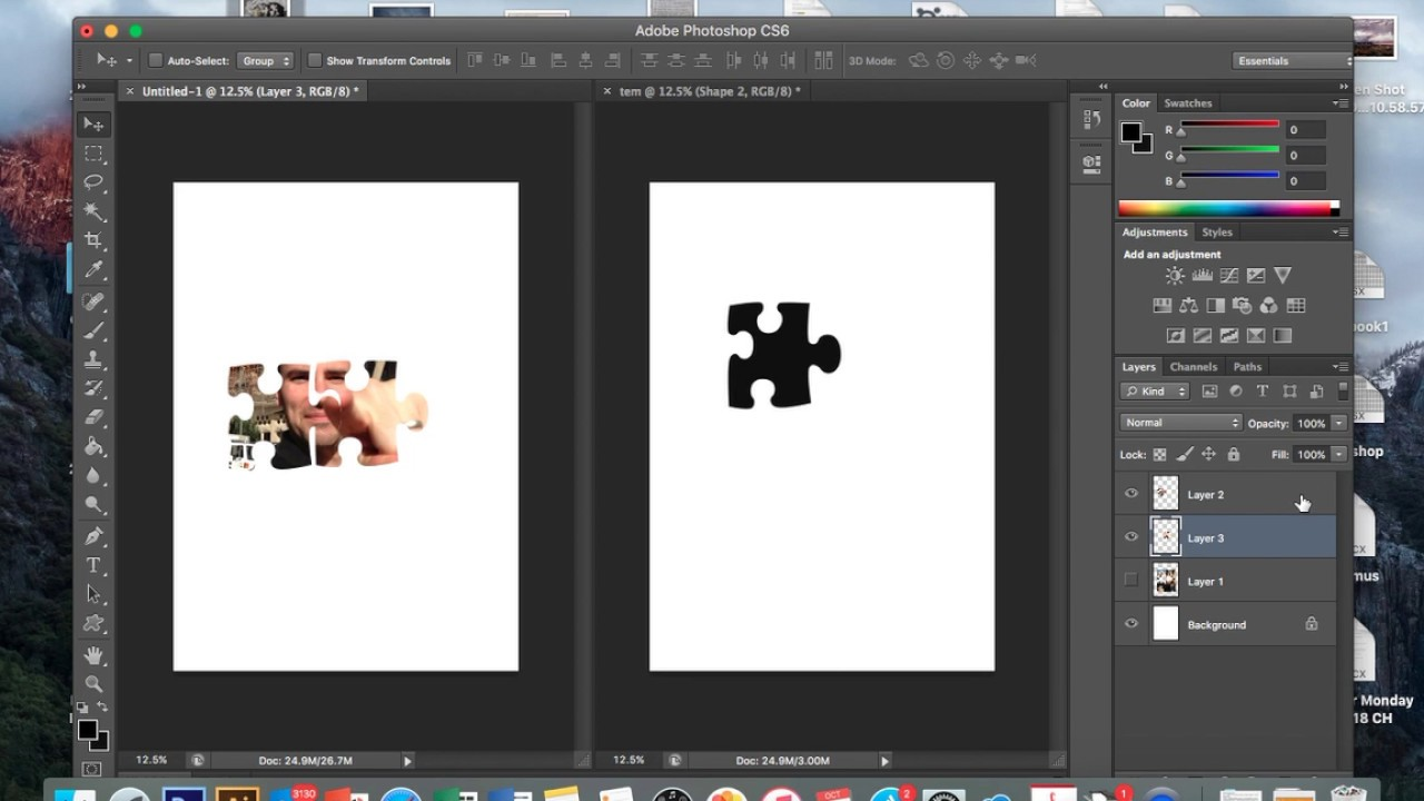 how to create jigsaw puzzle
