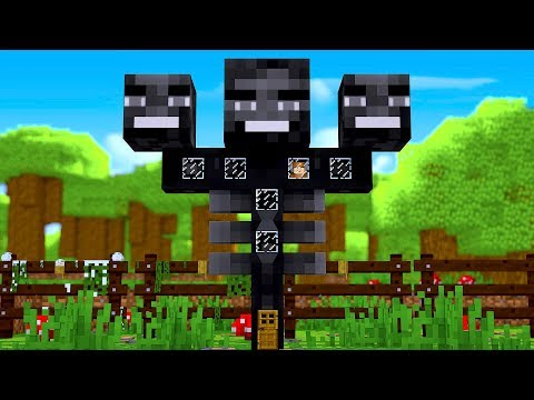 HOW TO LIVE INSIDE A WITHER IN MINECRAFT!
