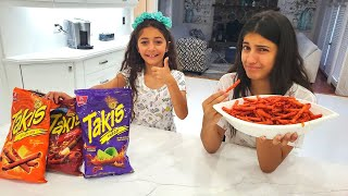 Hot Chips challenge with Hadil and Heidi