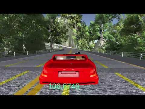 Jeu de voiture réalisé avec unity 3d et l'asset Architect