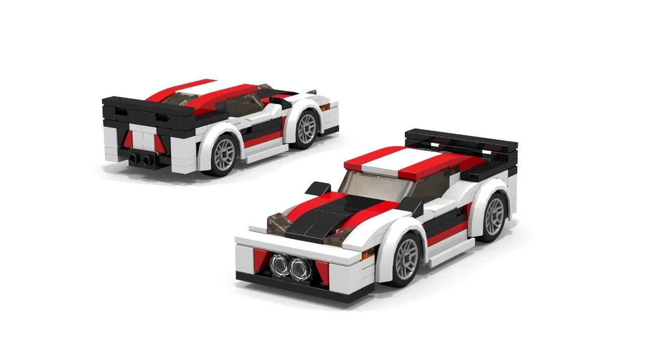 LEGO Lexus LFA race car Instructions