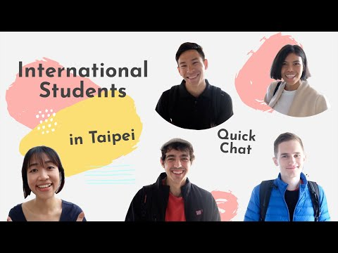 International Students In Taipei: Quick Chat About School And Future Plans
