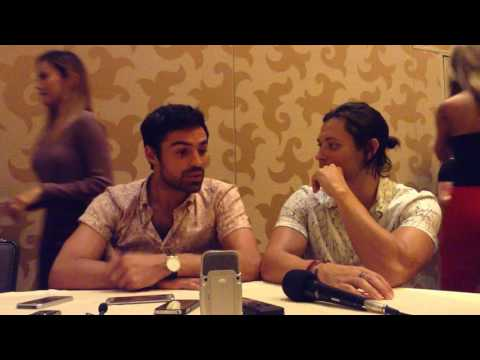 The Gifted  Blair Redford & Sean Teale   SDCC 2017