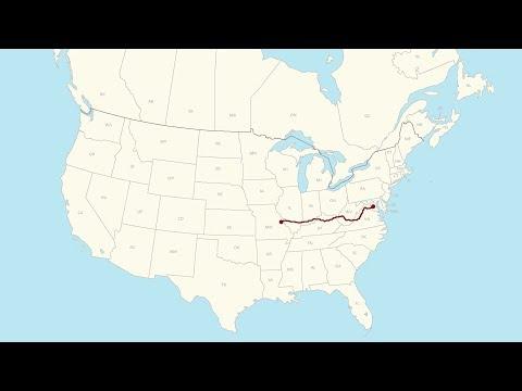 Washington, DC to Wildwood, MO (DC to WA Real-Time Road Trip – Day 1)
